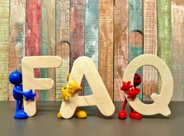 rédaction page FAQ