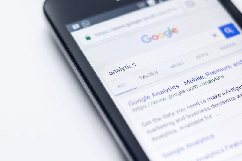 résultats recherche google